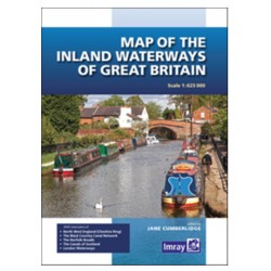 Carte marine Imray : the Inland Waterways of Great Britain