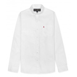 POPLIN BUTTON DOWN LS SHIRT MUSTO