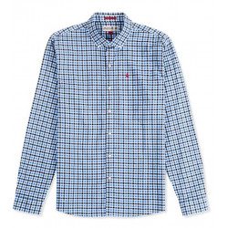 CHEMISE MANCHES LONGUES VICHY PORTO MUSTO