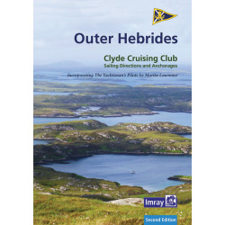 Guide nautique Imray OUTER HEBRIDES, Scotland / Ecosse CCC Sailing Directions and Anchorages