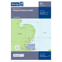 Carte Imray Y7 Thames Estuary South