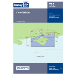 Carte Imray Y30 Isle of Wight