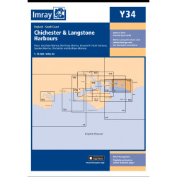 Carte Imray Y34 Chichester and Langstone Harbours