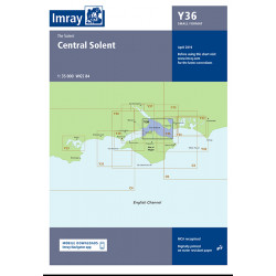 Carte Imray Y36 Central Solent