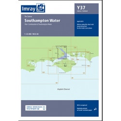 Carte Imray Y37 Southampton Water