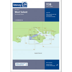 Carte Imray Y38 West Solent