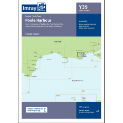 Carte Imray Y39 Poole Harbour