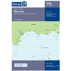 Carte Imray Y40 River Exehas