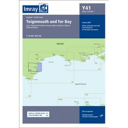 Carte Imray Y41 Teignmouth and Tor Bay