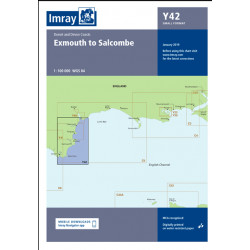 Carte Imray Y42 Exmouth to Salcombe