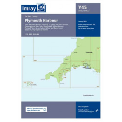 Carte Imray Y45 Plymouth Harbour