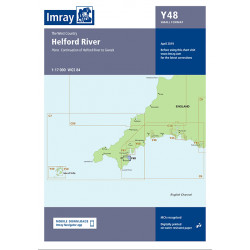 Carte Imray Y48 Helford River