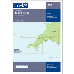 Carte imray Y49 Isles of Scilly