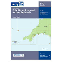 Carte Imray Y50 Saint Mary's, Tresco and Surrounding Islands
