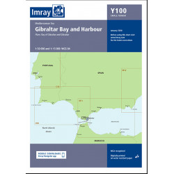 Carte Imray Y100 Gibraltar Bay and Harbour