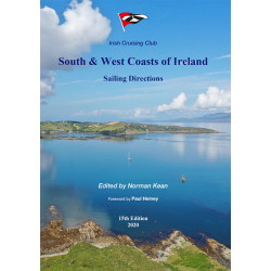 Guide nautique Imray South & West coasts of Ireland sailing directions / Irlande Sud et Ouest