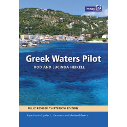 Greek waters pilot / Guide nautique Imray Grèce